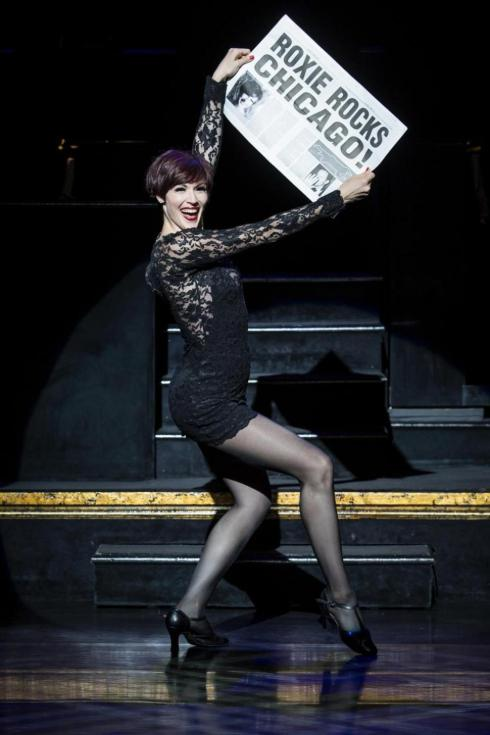 Lindsay Roginski, who used to sell merchandise at Chicago on Broadway, will step into the lead role of Roxie on Monday.